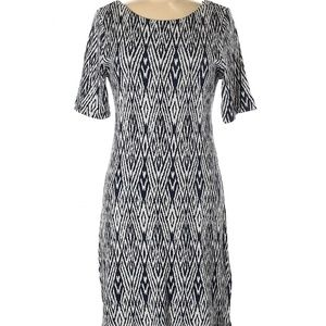 Tart Anthropologie women graphic print dress xs